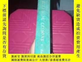 二手書博民逛書店breathing罕見lessons(毛邊書)封面有斑點Y190