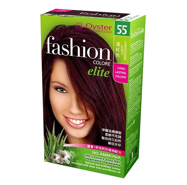 Oyster 歐絲特植物性染髮劑---55號酒紅色