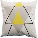 抱枕靠垫女男靠背床头办公室腰枕黄色枕套客厅沙发靠枕