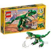 一件免運-樂高積木樂高創意百變系列31058兇猛霸王龍LEGO積木玩具xw