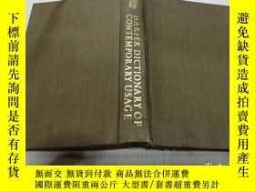 二手書博民逛書店HARPER罕見DICTIONARY OF CONTEMPORARY USAGE(哈珀當代用法詞典)外文版Y2