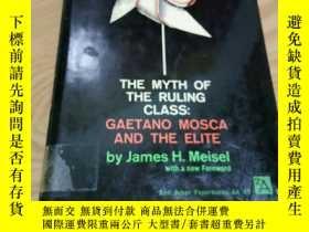 二手書博民逛書店THE罕見MYTH OF THE RULING CLASSY349741