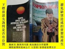 二手書博民逛書店Espionage罕見magazine august 1985(