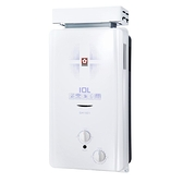 櫻花 SAKULA 10公升 屋外型 抗風 防空燒 熱水器 GH-1021