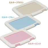 『寵喵樂旗艦店』日本IRIS Ag+抗菌《FMT-635 平面狗便盆 》桃色 / 藍色 / 茶色