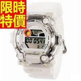 運動手錶-防水創意戶外電子錶4色61ab13[時尚巴黎]