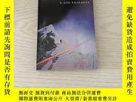二手書博民逛書店into罕見thin air a personal account of the Everest disaster