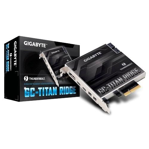 GIGABYTE 技嘉 GC-TITAN RIDGE Thunderbolt 3 擴充卡