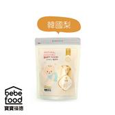 【愛吾兒】韓國 Bebefood 寶寶福德 米餅- 韓國梨 (20g) 6個月以上適用