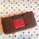 【發現。好貨】日本多摩君Domo長形橫式立體造型長夾 卡通皮夾DOMO造錢包 證件包 拉鍊夾層款