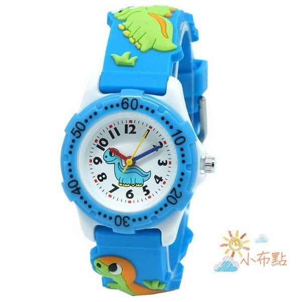 售完即止-3D恐龍卡通手錶兒童男孩女孩動漫禮物錶學生防水進口石英手錶10-26(庫存清出S)