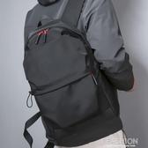 潮牌雙肩包男士簡約背包防水大學生書包男大容量休閒旅行包-Ifashion