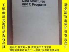 二手書博民逛書店英文書罕見Data Structures and C Programs 數據結構和C程序(16開,共387頁)