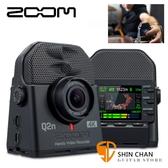 Zoom Q2n 4K 超廣角 隨身攝影機 / XY立體收音 / 4K畫質 直播攝影機 台灣公司貨 Q2n-4K