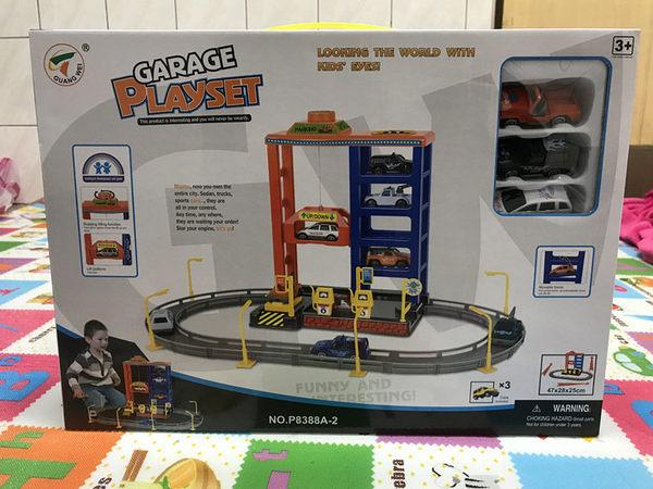 【現貨】兒童玩具 汽車玩具 小汽車停車場