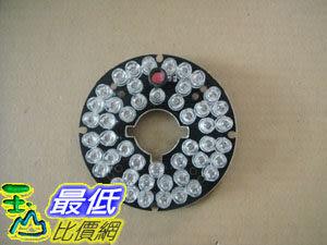 _a@[外徑6.0cm 內徑1.9cm] 圓形 紅外線燈板 48顆 5mm 紅外線LED燈 (18196) D03