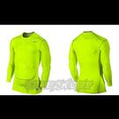 NIKE 束衣 Pro 2.0 緊身 長袖 萊卡 Dri-Fit  快排 保暖 單車 慢跑 螢黃 449794-702 【SP】