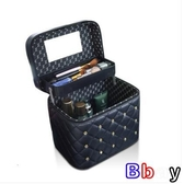 貝貝居 化妝箱 化妝包 大容量 多功能 便攜 化妝品 收納盒 手提化妝箱