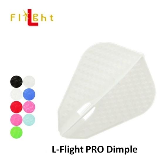 【L-Flight】PRO Dimple 素色 鏢翼 DARTS
