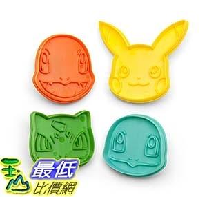 [美國直購] ThinkGeek 餅乾膜 Pokemon Cookie Cutter Starter Set 神奇寶貝 精靈寶可夢周邊
