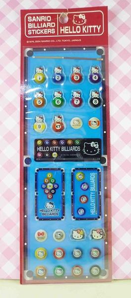 【震撼精品百貨】Hello Kitty 凱蒂貓~KITTY立體貼紙-賓果藍