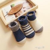 嬰兒襪子秋冬季0-3個月6純棉加厚保暖可愛初生新生幼兒寶寶襪1歲 9號潮人館