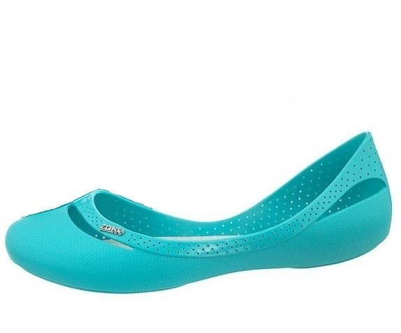 4折 ZAXY-(女)FLOW SAP  復古優雅娃娃鞋 -ZA8182890241 綠松石藍[陽光樂活]