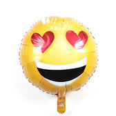 幸福婚禮小物❤表情符號我戀愛了 氣球❤求婚道具婚禮拍照道具婚禮會場佈置