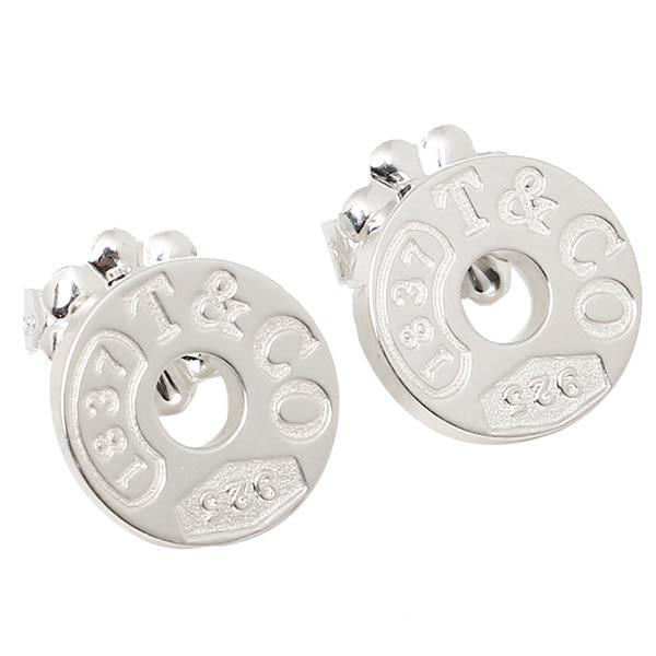 Tiffany & Co. 1837純銀圓圈耳環