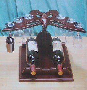 實木創意時尚酒架