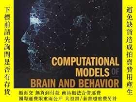 二手書博民逛書店Computational罕見Models Of Brain And BehaviorY256260 Ahme