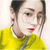 現貨-韓國ulzzang原宿高品質復古眼鏡框吳亦凡郭采潔同款眼鏡個性平光鏡眼鏡框架男女 7