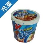 小美冰淇淋-巧克力1L(520g)/桶【愛買冷凍】
