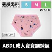 ABDL 成人寶寶 練習褲 訓練褲 粉紅公主 | 加拿大 REARZ 品牌 棉布面 重複使用成人尿布