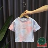 韓版百搭母子母女親子裝T恤短袖休閒上衣【聚可爱】