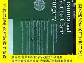 二手書博民逛書店The罕見Journal of Trauma and Acute Care Surgery 03 2012 創傷與