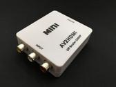 [富廉網] 10-AY23 AV TO HDMI高畫質轉接盒(翔龍)
