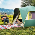 3-4人帳篷戶外裝備野營加厚全自動野外露營防雨-完美