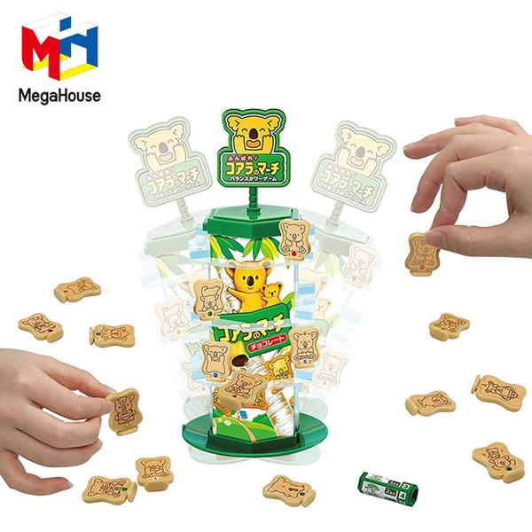 【日本正版】小熊餅乾 平衡遊戲 桌遊 益智玩具 無尾熊平衡遊戲 樂天小熊餅 樂天熊仔餅 - 515416