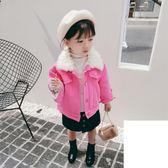 兒童牛仔外套女童外套冬裝新款韓版小童寶寶洋氣牛仔衣兒童加絨加厚上衣潮伊芙莎旗艦店