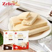 日本 Zelico 鈴木榮光堂 乳酸風味威化餅 威化餅 夾心餅 夾心酥 乳酸風味 餅乾