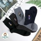 【正韓直送】韓國襪子 紳士熊加大男性中筒襪 男襪 長襪 生日禮物 型男必備 哈囉喬伊 M12