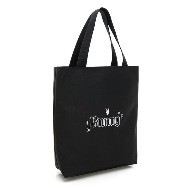 PLAYBOY- 手提袋 BUNNY兔系列-黑色