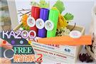 【小麥老師樂器館】KAZOO 塑膠 卡祖笛【A232】鴨子笛 贈笛膜! 四色 伴奏好夥伴
