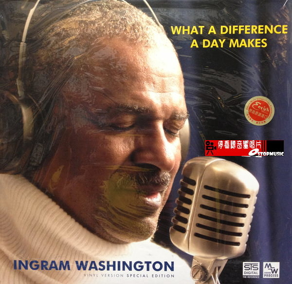 【停看聽音響唱片】【黑膠LP】INGRAM WASHINGTON WHAT A DIFFERENCE A DAY MAKES