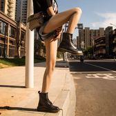 新款馬丁靴女短靴英倫風學生韓版百搭機車單靴子春秋季冬chic   提拉米蘇