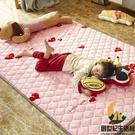 兒童爬行墊嬰兒爬爬墊家用秋冬地毯地墊折疊可機洗保暖加絨【創世紀生活館】