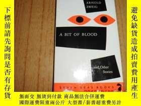 二手書博民逛書店A罕見BIT OF BLOOD (一點血及其他故事 英文原版)Y