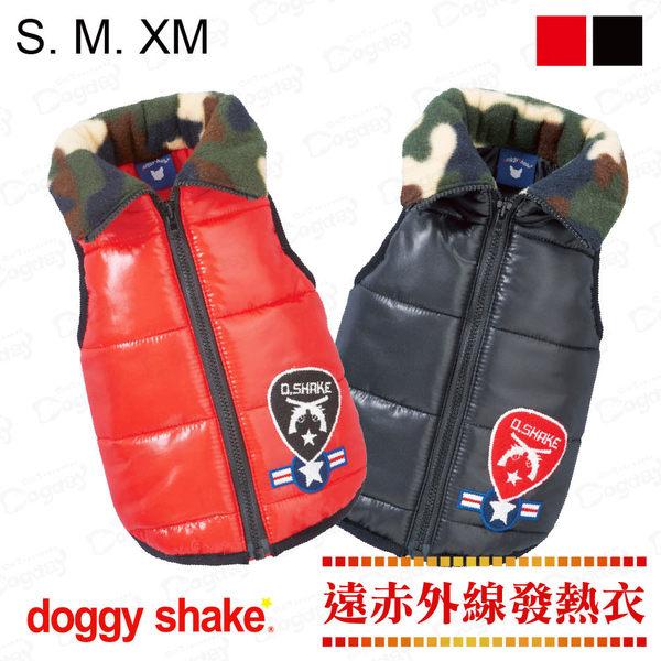 日本《Doggy Shake》軍官發熱背心 S/M/XM 狗狗發熱衣 狗衣服 冬衣
