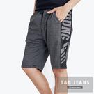 英文造型運動短褲